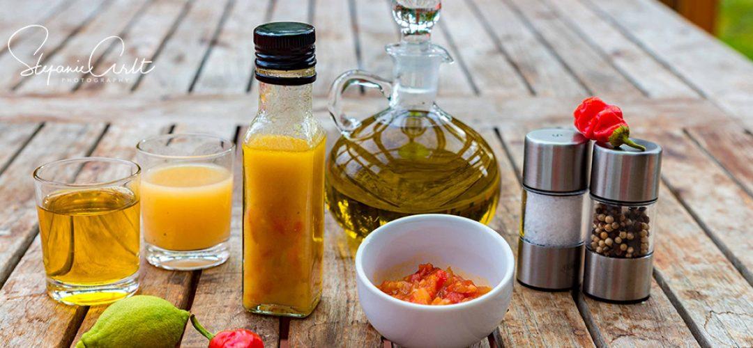 Birnen-Tomaten Chutney Dressing