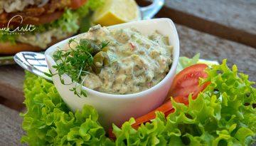 Remoulade bzw. Sauce Tartare