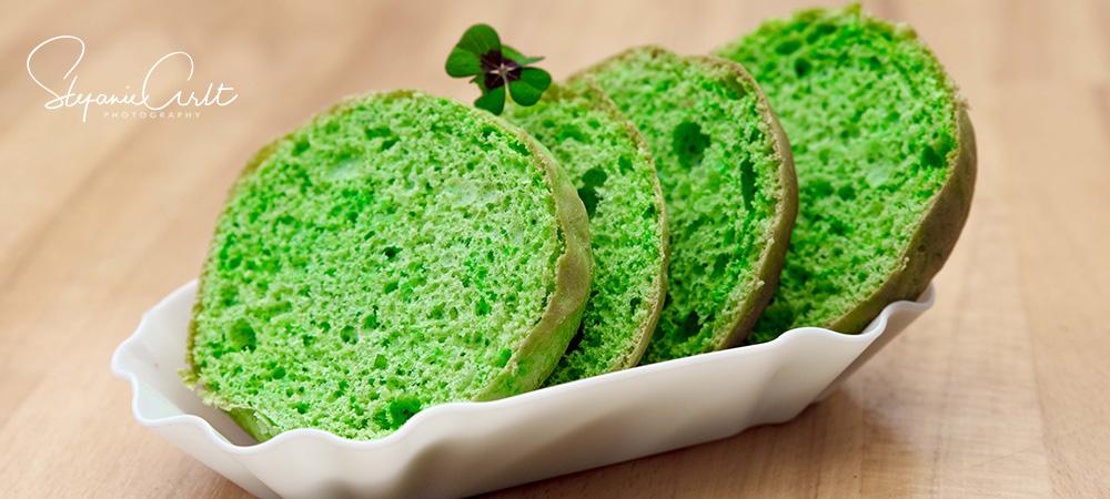 Grüne Burger Brötchen