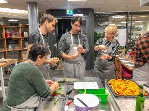 Weihnachtsmenue Kochkurs in der Kochschule Darmstadt