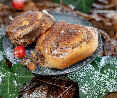 Zimtstern-Lebkuchen Schnecken