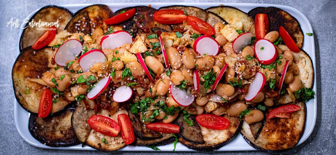 Butterbohnen-Artischocken-Salat
